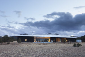 Studio Rick Joy, Lone Mountain Ranch House, Golden, New Mexico, USA, Photographed by: Peter Ogilvie